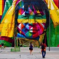 Grafitti Sanatçısından Muhteşem Rekor Denemesi